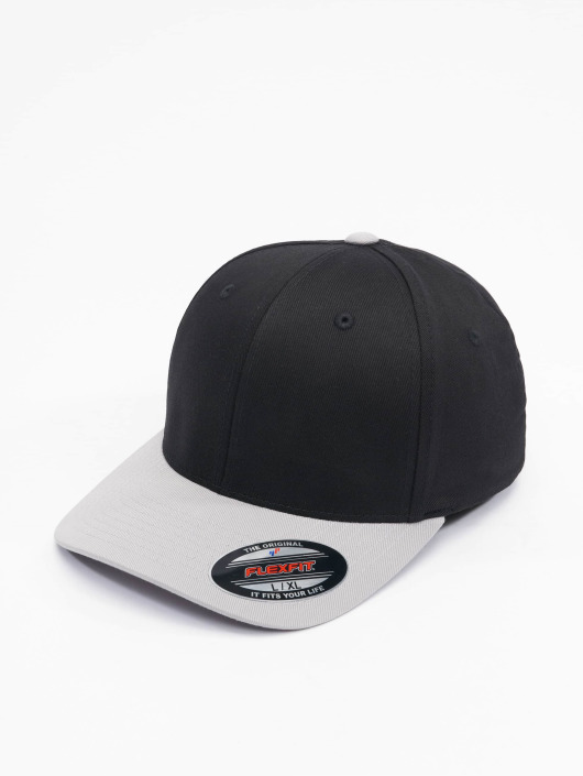Flexfit Flexfitted Cap 2-Tone Wooly Combed èierna