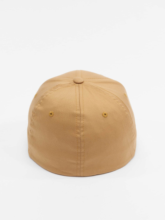 Flexfit Flexfitted Cap Wooly Combed bezowy