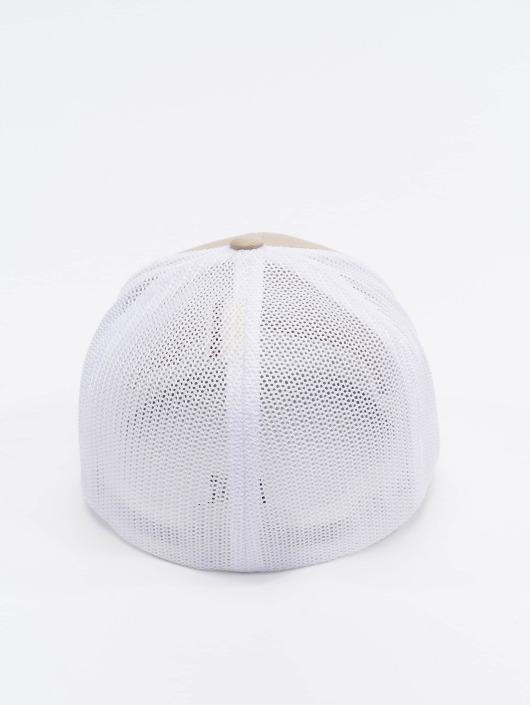 Flexfit Flexfitted Cap Mesh Cotton Twill bezowy