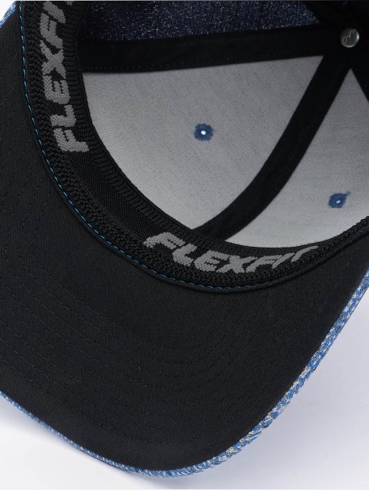 Flexfit Flexfitted Cap Jasquard Knit blau