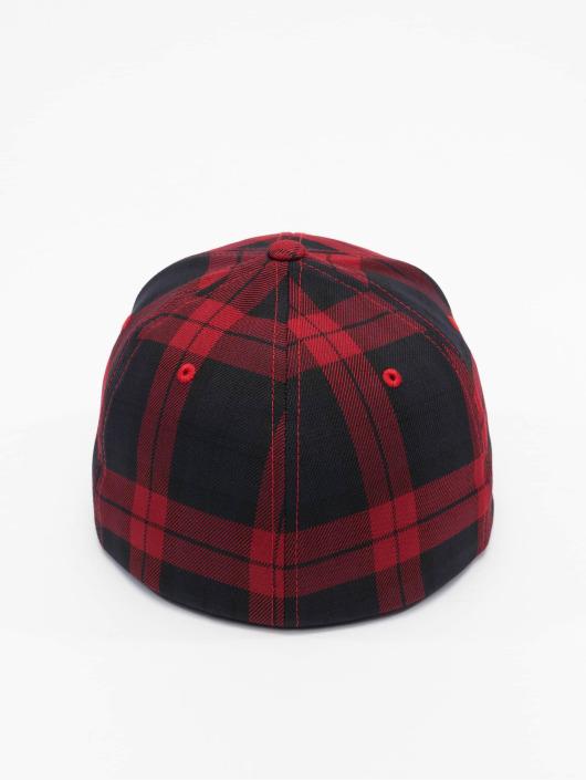 Flexfit Flexfitted Cap Tartan Plaid czarny