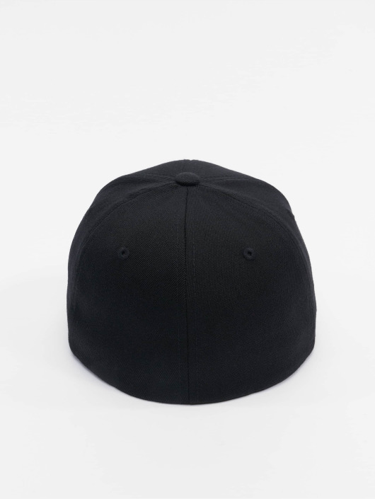 Flexfit Flexfitted Cap Wool Blend czarny