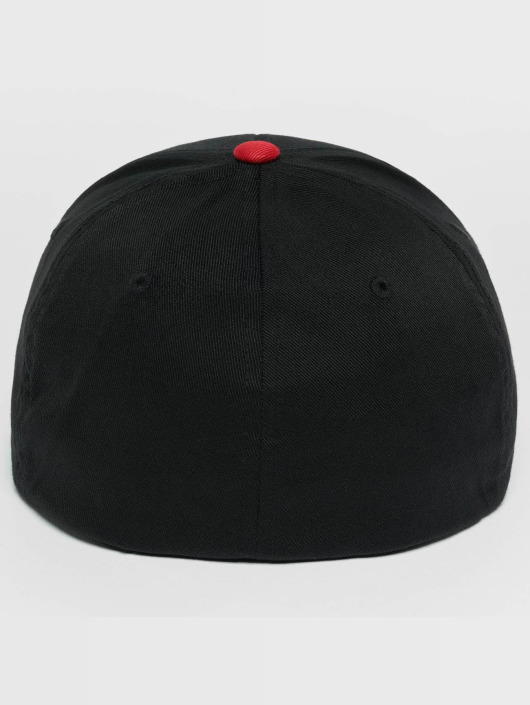 Flexfit Flexfitted Cap 2-Tone Wooly Combed czarny