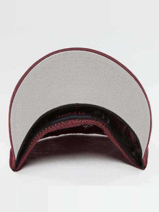 Flexfit Flexfitted Cap Mesh Cotton Twill czerwony