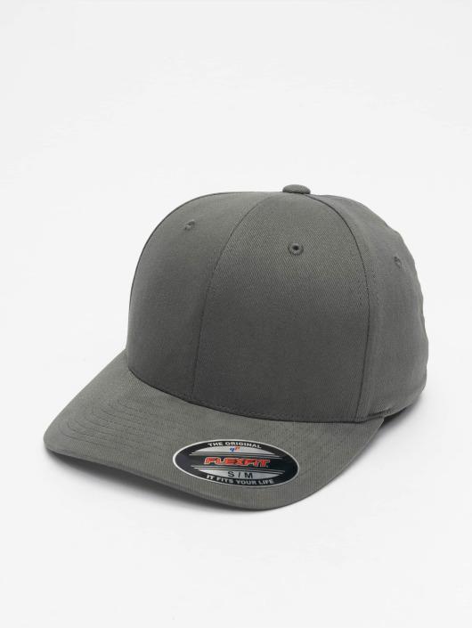 Flexfit Flexfitted Cap Twill Brushed grau