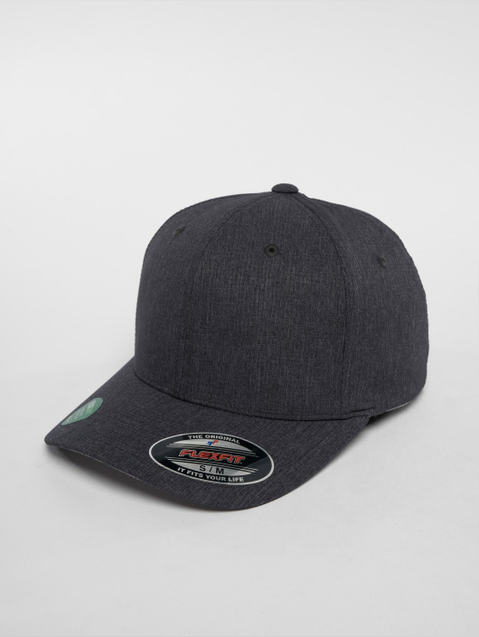 Flexfit Flexfitted Cap Poly Air Melange grau