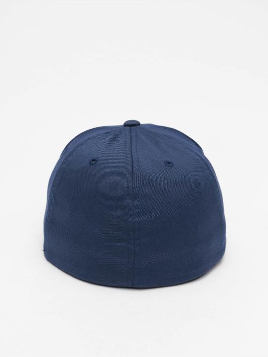 Flexfit Flexfitted Cap Flat Visor niebieski