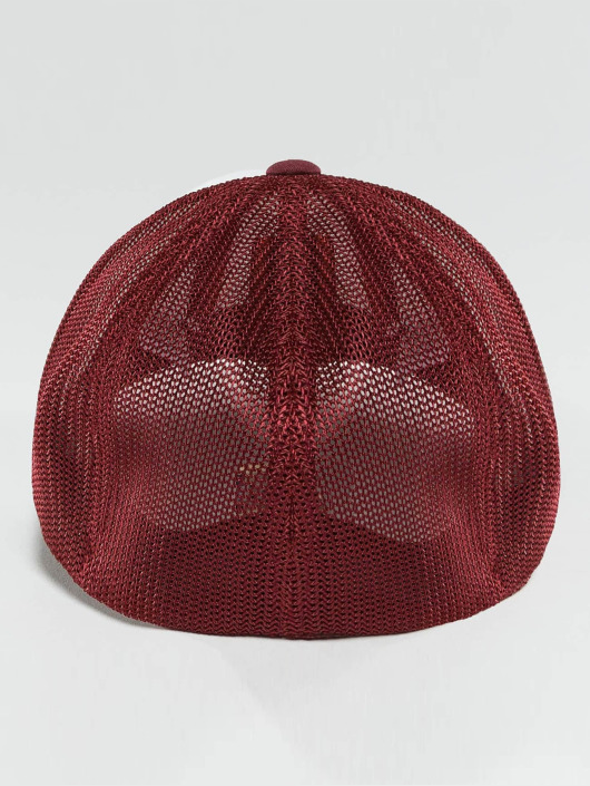 Flexfit Flexfitted Cap Mesh Colored Front red