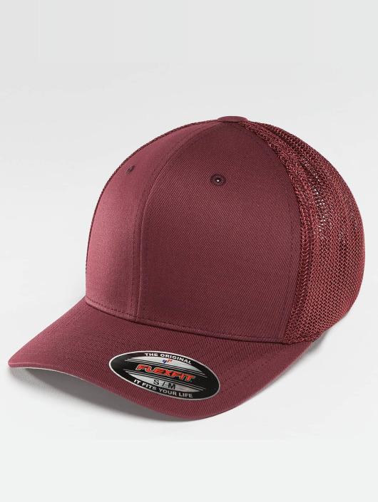 Flexfit Flexfitted Cap Mesh Cotton Twill rosso