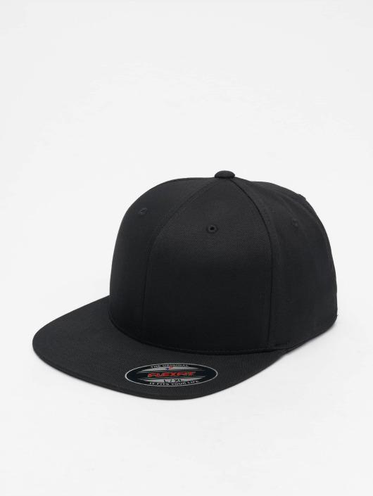 Flexfit Flexfitted Cap Flat Visor schwarz
