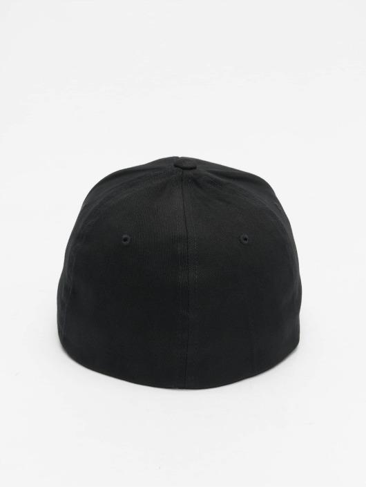 Flexfit Flexfitted Cap Twill Brushed schwarz