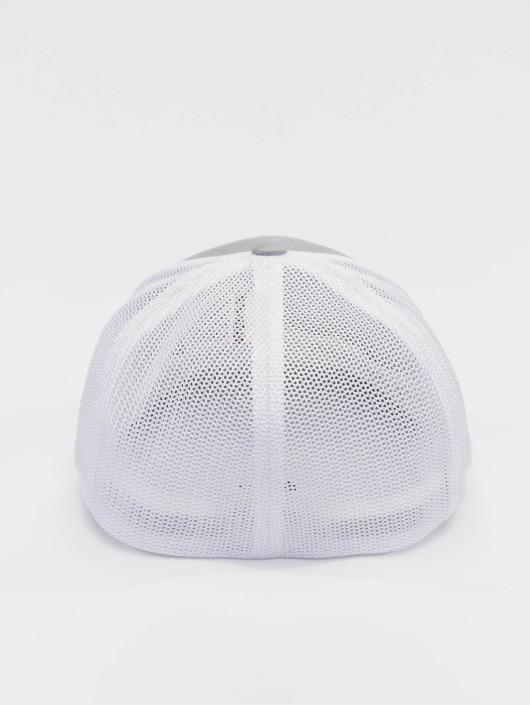 Flexfit Flexfitted Cap Mesh Cotton Twill srebrny