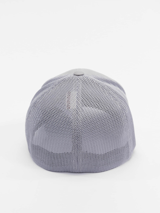 Flexfit Flexfitted Cap Mesh Cotton Twill srebrny