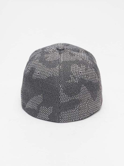 Flexfit Flexfitted Cap Jasquard Knit szary