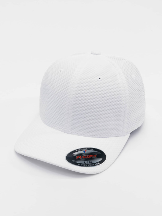 Flexfit Flexfitted Cap 3D Hexagon white