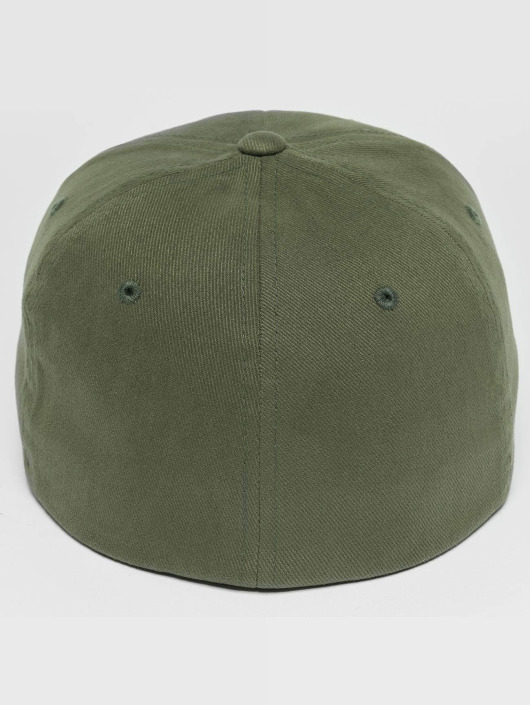Flexfit Flexfitted Cap Twill Brushed zelená