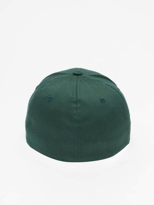 Flexfit Flexfitted Cap Wooly Combed zielony