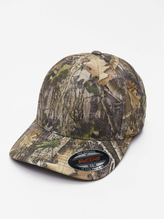 Flexfit Flexfitted-lippikset True Timber camouflage