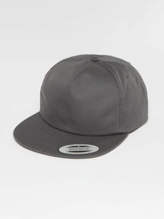 Flexfit Gorra Snapback Unstructured gris