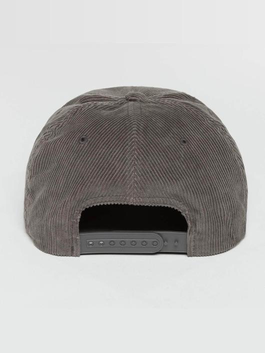 Flexfit Gorra Snapback Premium Corduroy gris