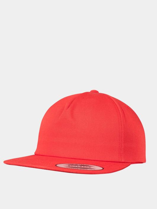 Flexfit Gorra Snapback Unstructured rojo