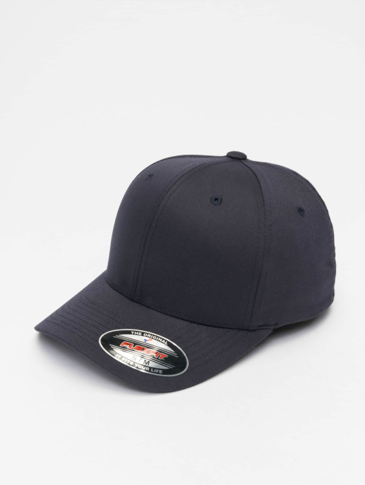 Flexfit Gorras Flexfitted Wooly Combed azul