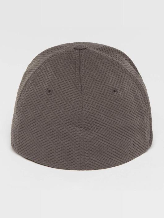 Flexfit Gorras Flexfitted 3D Hexagon gris