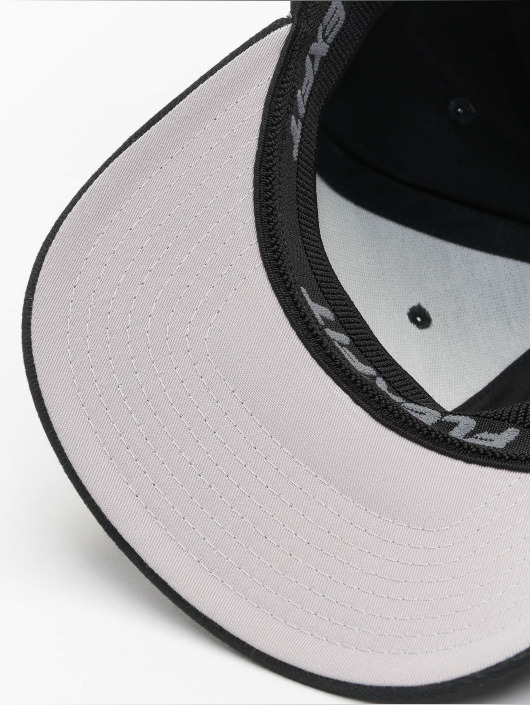 Flexfit Gorras Flexfitted Twill Brushed negro