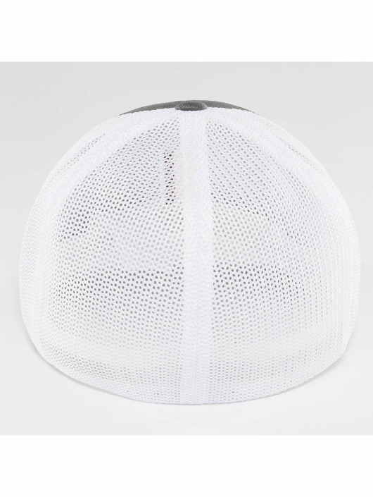 Flexfit Lastebilsjåfør- / flexfitted caps Mesh Cotton Twill Two Tone grå