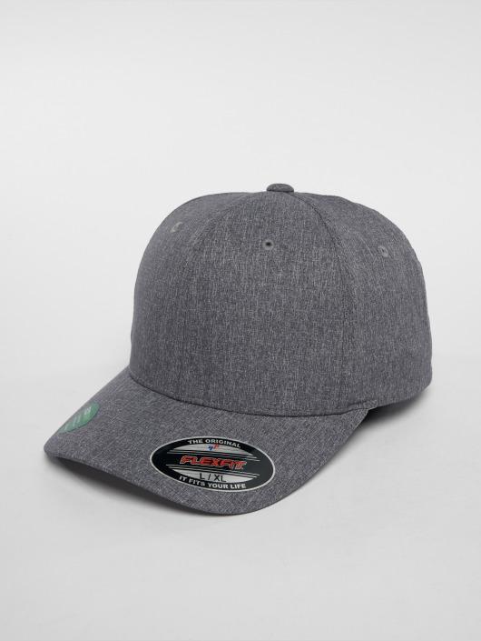 Flexfit Lastebilsjåfør- / flexfitted caps Poly Air Melange grå