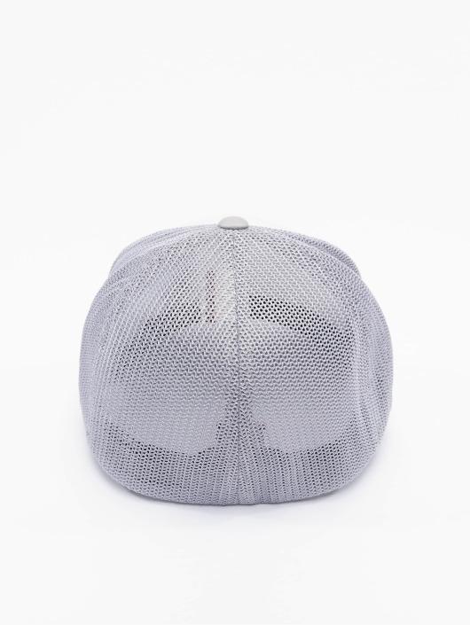 Flexfit Lastebilsjåfør- / flexfitted caps Mesh Colored Front sølv