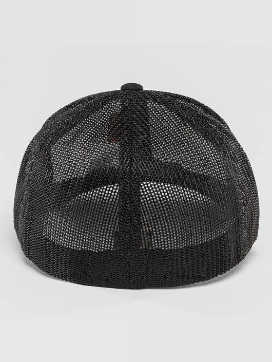 Flexfit Lastebilsjåfør- / flexfitted caps Mesh Colored svart