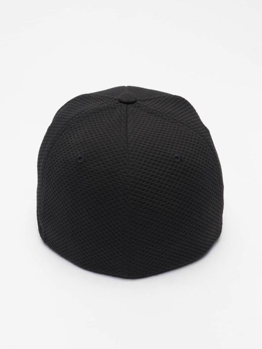 Flexfit Lastebilsjåfør- / flexfitted caps 3D Hexagon svart