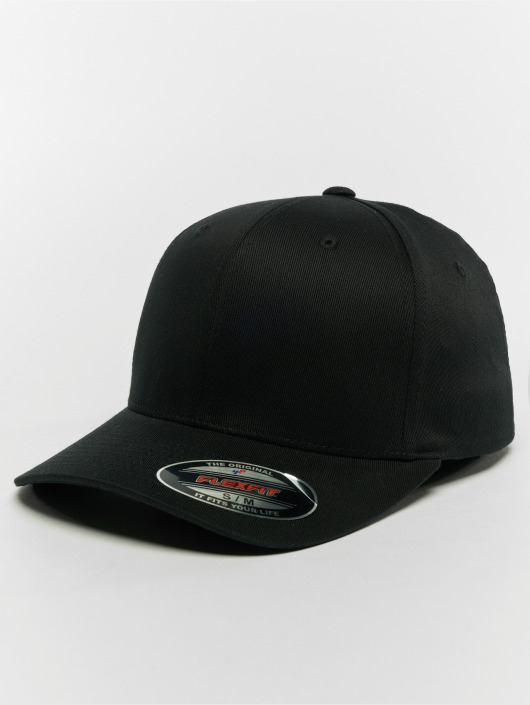 Flexfit Lastebilsjåfør- / flexfitted caps Organic Cotton svart