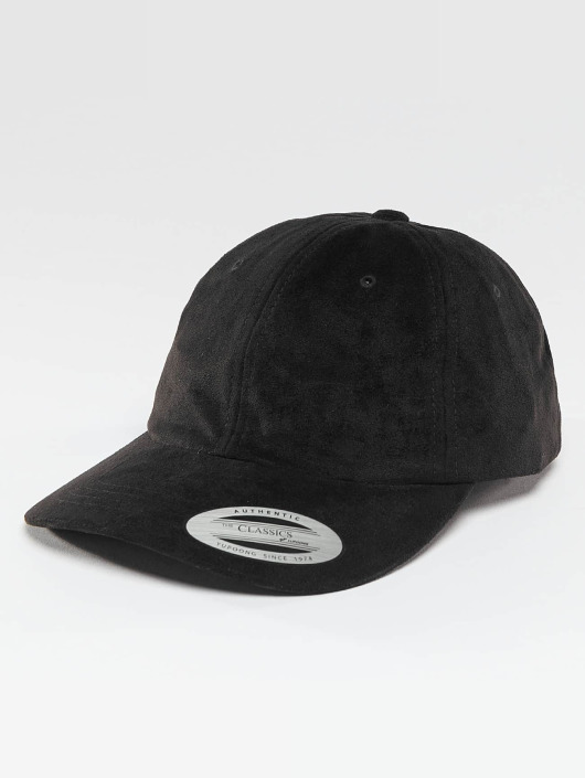Flexfit Snapback Low Profile Velours èierna