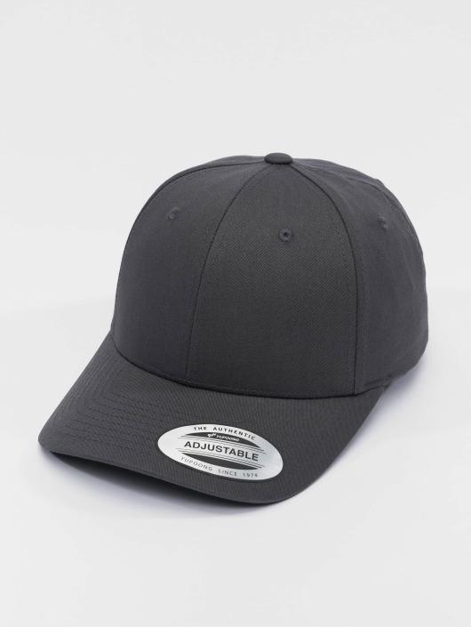 Flexfit Snapback Curved Classic šedá