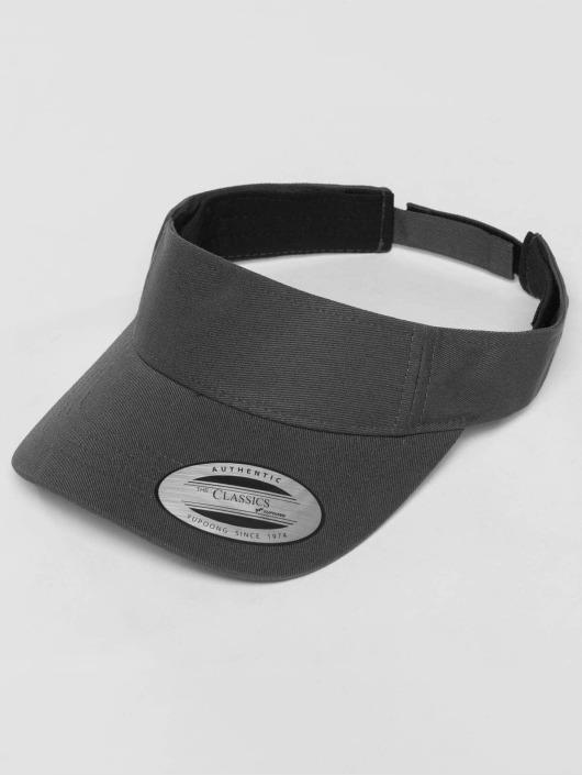Flexfit Snapback Curved Visor šedá