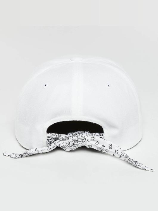 Flexfit Snapback Cap Bandana Tie bianco