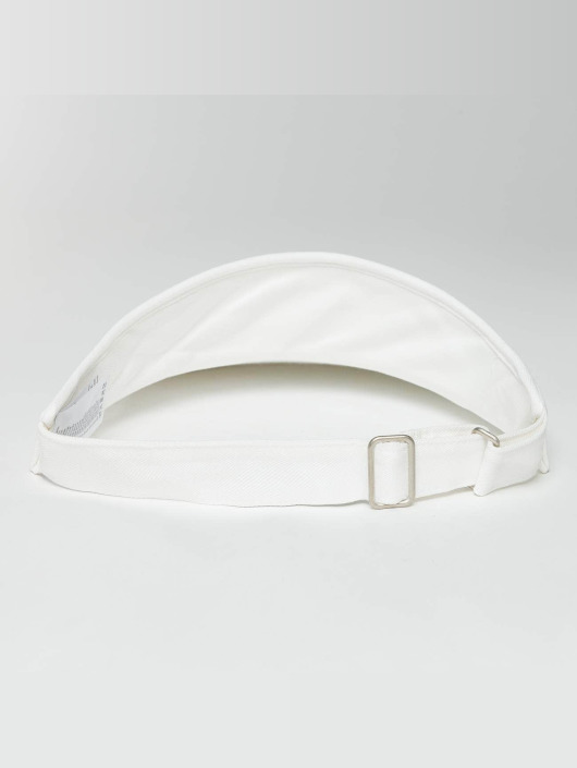Flexfit Snapback Cap Flat Round Visor bianco
