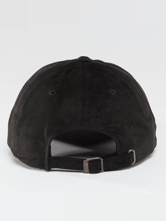 Flexfit Snapback Cap Low Profile Velours black