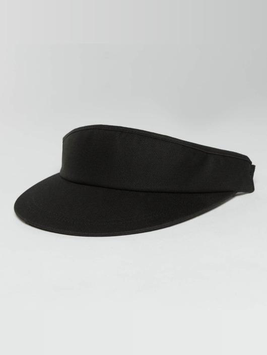 Flexfit Snapback Cap Flat Round Visor black