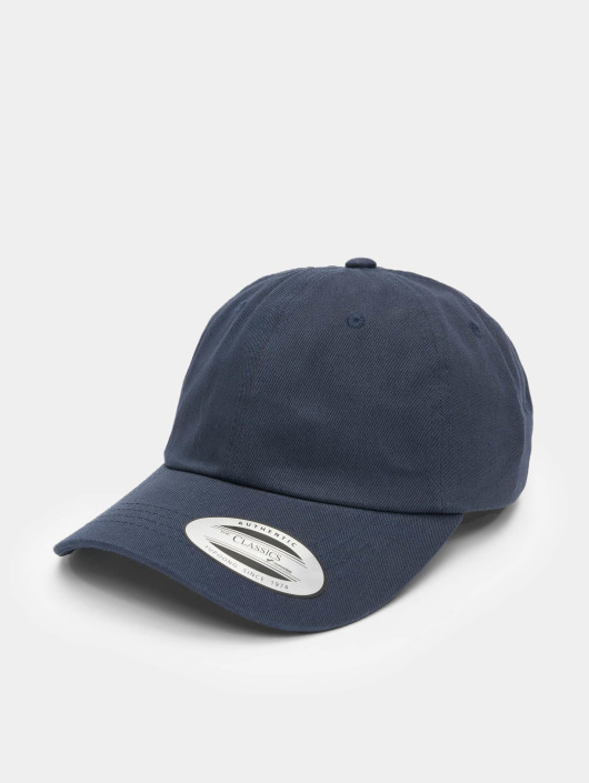 dae25d3dda40f4 Flexfit Snapback Cap Low Profile Cotton Twill in blau 238542