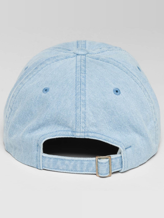 Flexfit Snapback Cap Low Profile Denim blau