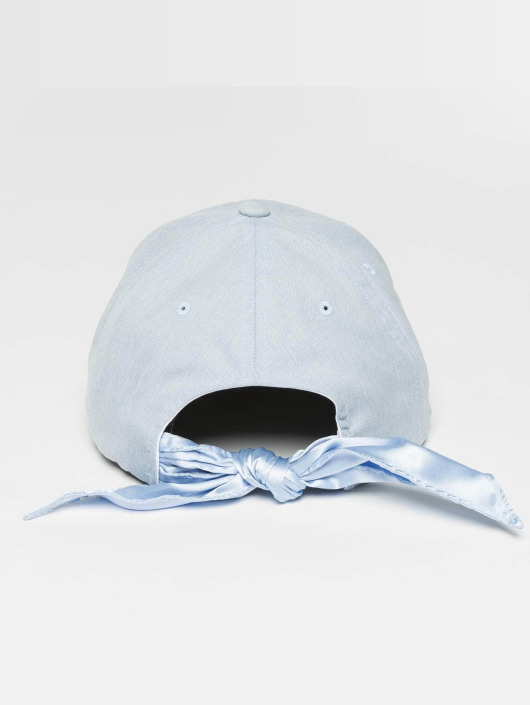 Flexfit Snapback Cap Satin Bow Dad blau