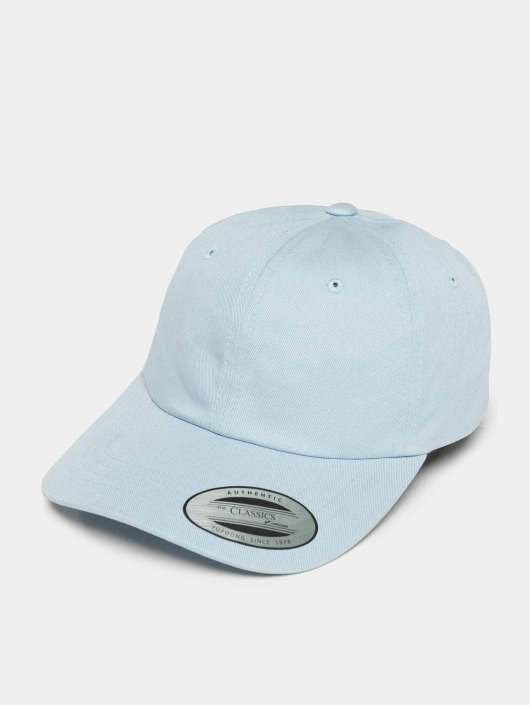 Flexfit snapback cap Low Profile Cotton Twil blauw