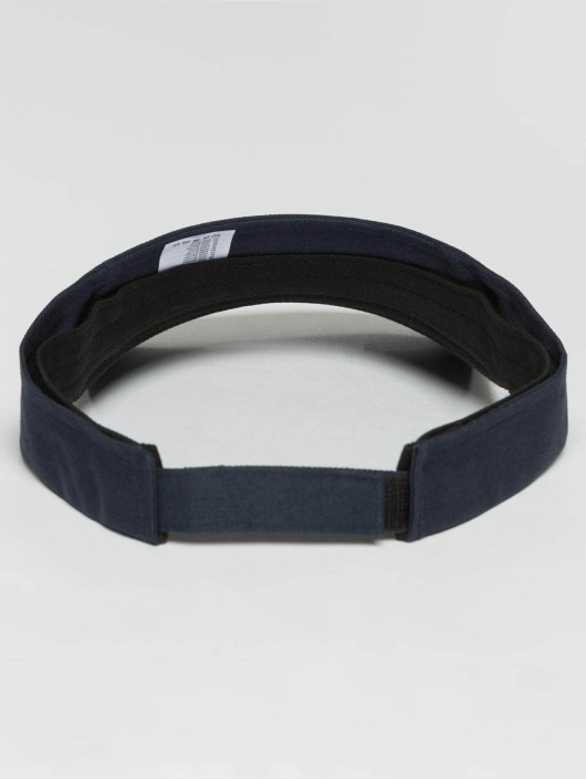 Flexfit Snapback Cap Curved Visor blue