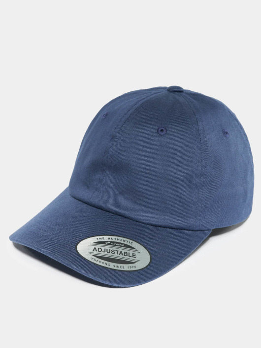 Flexfit Snapback Cap Low Profile blue