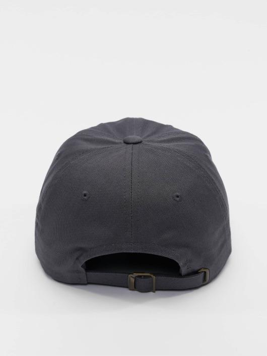 Flexfit Snapback Cap Low Profile Cotton Twil grau