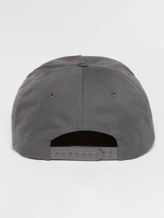 Flexfit Snapback Cap Unstructured grau