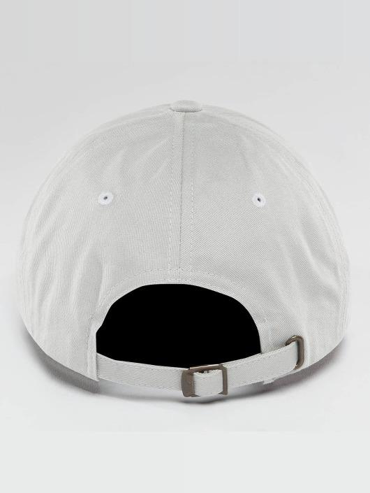 Flexfit Snapback Cap Peached Cotton Twill Dad gray